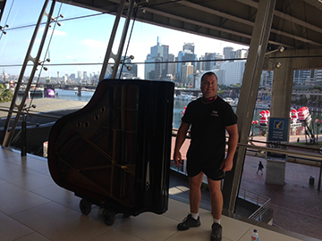 Moving a grand piano within premises