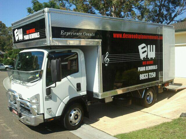 Sydney Piano Removalists fully insured